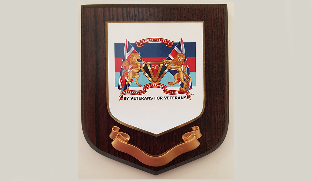 AFVBC Plaque (Hand Painted)
